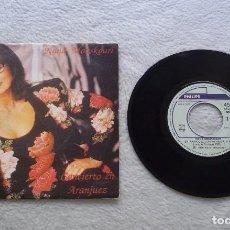 Discos de vinilo: DISCO SINGLE VINILO NANA MOUSKOURI/CONCIERTO EN ARANJUEZ 45 RPM. B 1989. Lote 187205433