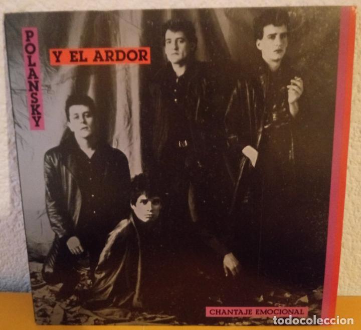J - POLANSKY Y EL ARDOR - CHANTAJE EMOCIONAL (Música - Discos - LP Vinilo - Grupos Españoles de los 70 y 80)
