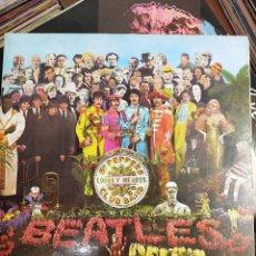 Discos de vinilo: THE BEATLES-SGT.PEPPERS LONELY HEARTS CLUB BAND.10 C 064-004.177. VINILO AMARILLO COMO NUEVO. 1976. Lote 187210661