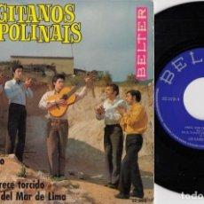 Discos de vinilo: LOS GITANOS POLINAIS - MICAELA CHAO - EP DE VINILO RUMBA JALEO. Lote 187210973