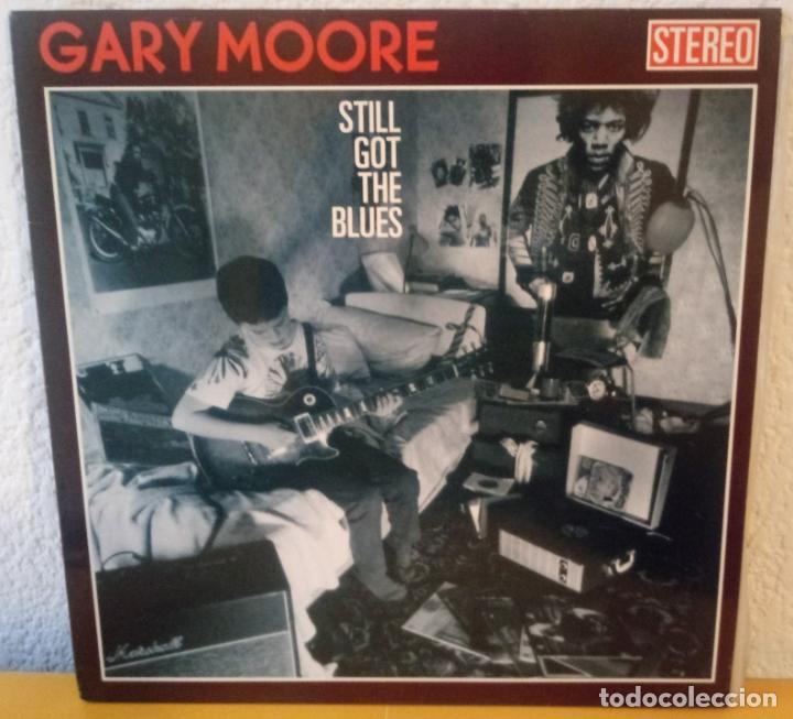 J - GARI MOORE - STILL GOT THE BLUES (Música - Discos - LP Vinilo - Pop - Rock - Extranjero de los 70)