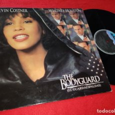 Discos de vinilo: EL GUARDAESPALDAS BSO OST WHITNEY HOUSTON LP 1992 ARISTA SPAIN. Lote 187214038