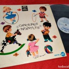 Dischi in vinile: CORO DE NIÑAS Y ORQUESTAS CANCIONES INFANTILES POPULARES LP 1968 REGAL SPAIN. Lote 187214351