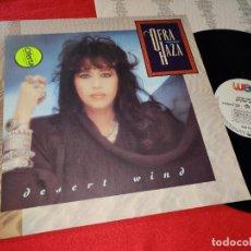 Discos de vinilo: OFRA HAZA DESERT WIND LP 1988 WEA GERMANY. Lote 187216017