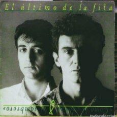 Discos de vinil: EL ÚLTIMO DE LA FILA - CÓMO LA CABEZA AL SOMBRERO LP PDI 1988. Lote 187217580
