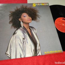 Discos de vinilo: SHANNON DO YOU WANNA GET AWAY LP 1985 POLYDOR SPAIN. Lote 187224501