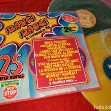 Discos de vinilo: ¡BANG-BANG! EL SUPERDISCO 79 2LP 1979 SPAIN RECOPILATORIO STEWART+MORALI+ANDERSSON+WAYNE+ETC. Lote 187224718