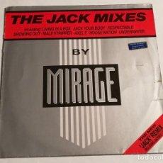 Discos de vinilo: MIRAGE - THE JACK MIXES - 1987. Lote 187238163