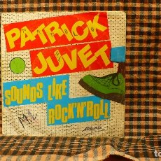 Discos de vinilo: PATRICK JUVET ‎– SOUNDS LIKE ROCK'N'ROLL /ON WITH THE SHOW, 1980, BARCLAY ‎– 02.2220/2. . Lote 187239867