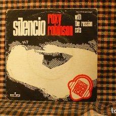 Discos de vinilo: ROXY ROBINSON WITH THE RUSSIAN CATS – SILENCIO / BRUM BUM BUM, 1976, PROMOCIONAL, RIFI – MO 1632.. Lote 187245827