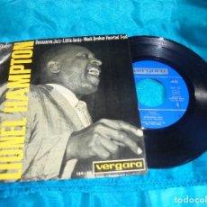 Discos de vinilo: LIONEL HAMPTON. GLADYS / BOSSANOVA JAZZ + 2. EP. VERGARA, 1964. PROMOCIONAL. SPAIN. IMPECABLE (#). Lote 187294005