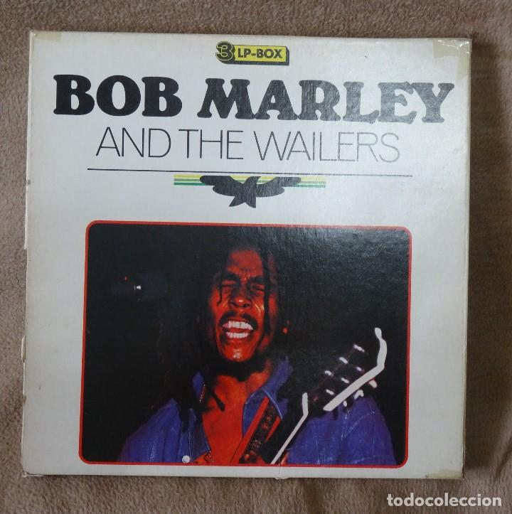 BOB MARLEY AND THE WAILERS 3 LP´S BOX TIME WIND F/50027-28 Y 29 (Música - Discos de Vinilo - EPs - Reggae - Ska)