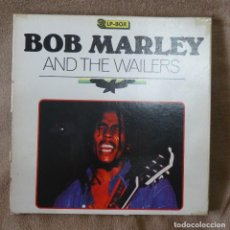 Discos de vinilo: BOB MARLEY AND THE WAILERS 3 LP´S BOX TIME WIND F/50027-28 Y 29. Lote 187297020
