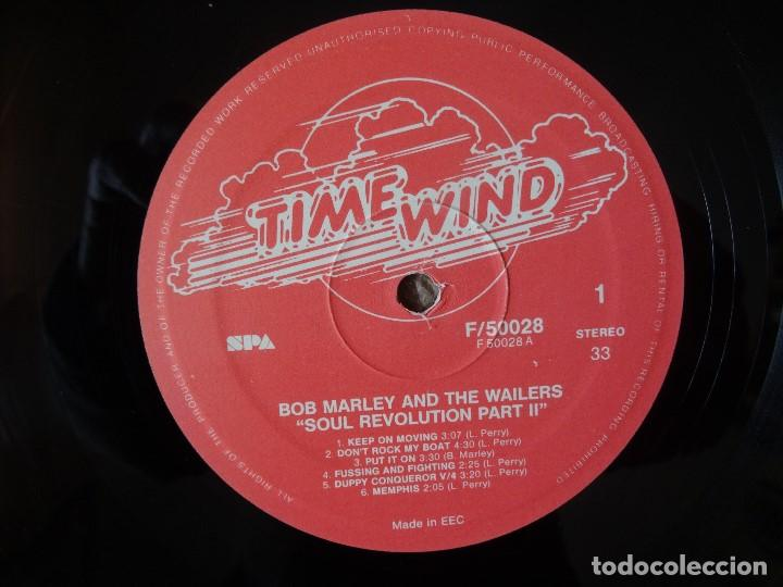 Discos de vinilo: BOB MARLEY AND THE WAILERS 3 LP´S BOX TIME WIND F/50027-28 Y 29 - Foto 3 - 187297020