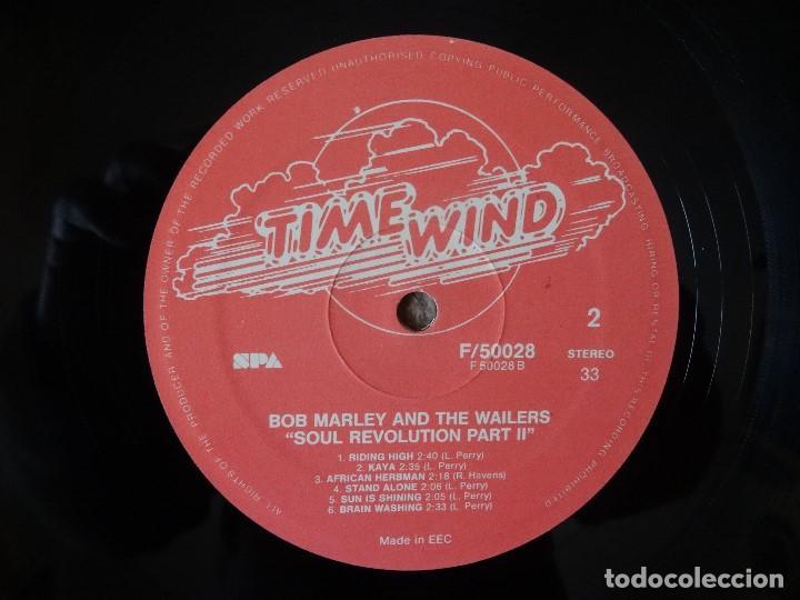 Discos de vinilo: BOB MARLEY AND THE WAILERS 3 LP´S BOX TIME WIND F/50027-28 Y 29 - Foto 4 - 187297020