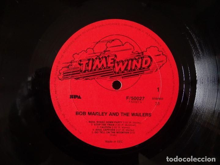 Discos de vinilo: BOB MARLEY AND THE WAILERS 3 LP´S BOX TIME WIND F/50027-28 Y 29 - Foto 5 - 187297020