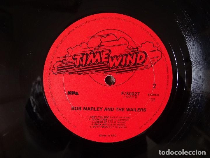 Discos de vinilo: BOB MARLEY AND THE WAILERS 3 LP´S BOX TIME WIND F/50027-28 Y 29 - Foto 6 - 187297020