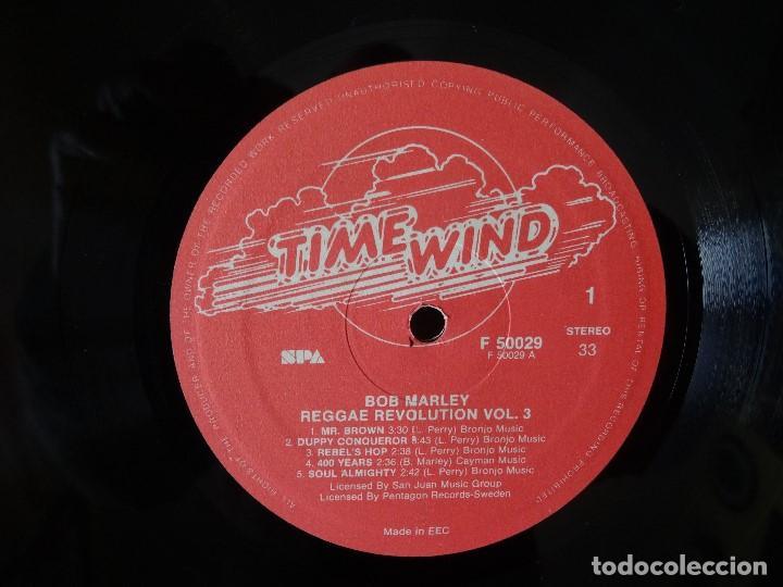 Discos de vinilo: BOB MARLEY AND THE WAILERS 3 LP´S BOX TIME WIND F/50027-28 Y 29 - Foto 7 - 187297020