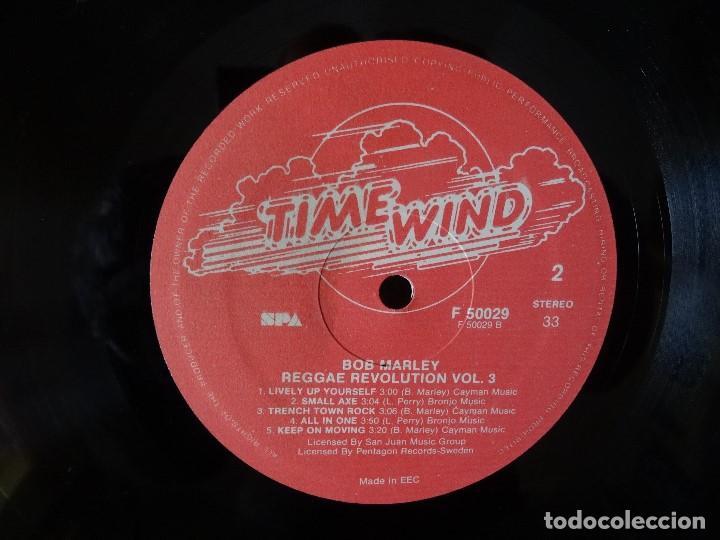 Discos de vinilo: BOB MARLEY AND THE WAILERS 3 LP´S BOX TIME WIND F/50027-28 Y 29 - Foto 8 - 187297020