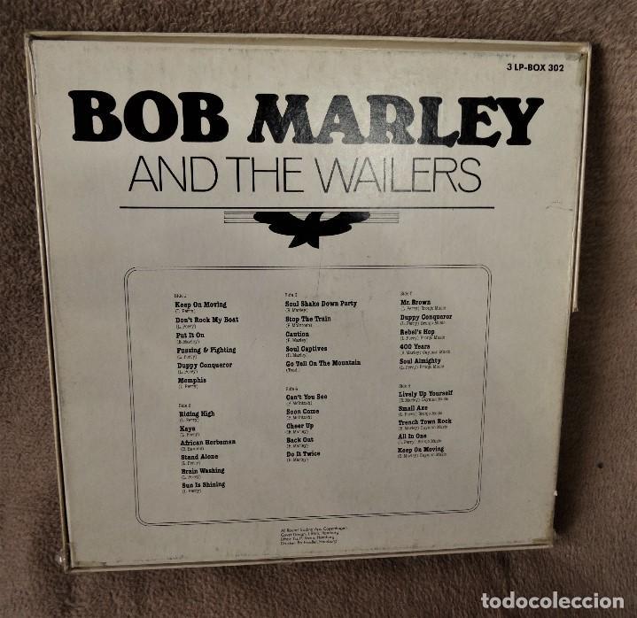 Discos de vinilo: BOB MARLEY AND THE WAILERS 3 LP´S BOX TIME WIND F/50027-28 Y 29 - Foto 10 - 187297020