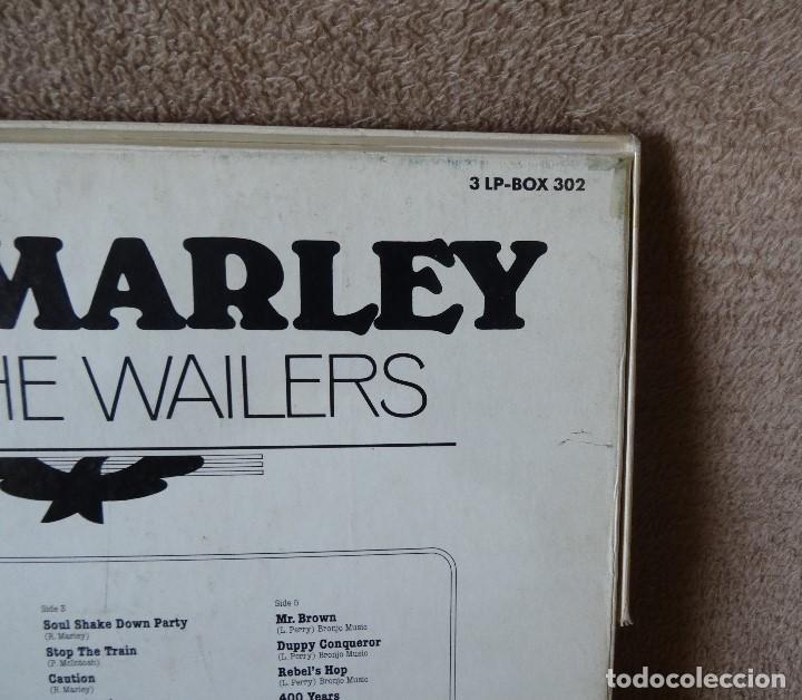 Discos de vinilo: BOB MARLEY AND THE WAILERS 3 LP´S BOX TIME WIND F/50027-28 Y 29 - Foto 11 - 187297020
