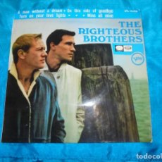 Disques de vinyle: THE RIGHTEOUS BROTHERS. A MAN WITHOUT A DREAM + 3. EP. LA VOZ SU AMO, 1966 . PROMO. SPAIN. IMPEC (#). Lote 187297731