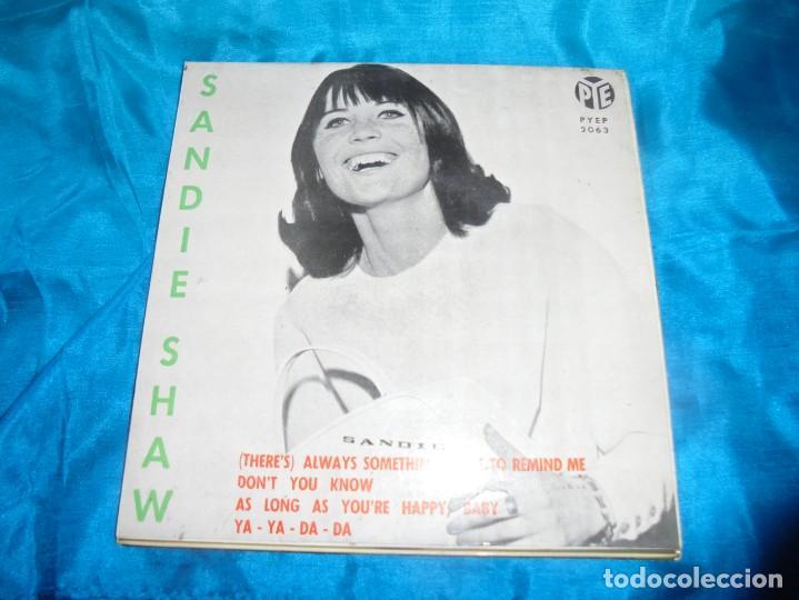 SANDIE SHAW. SIEMPRE HAY ALGO QUE ME RECUERDA A TI + 3. EP. PYE, 1964. SPAIN. (#) (Música - Discos de Vinilo - EPs - Pop - Rock Extranjero de los 50 y 60)