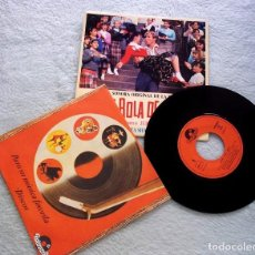 Disques de vinyle: DISCO SINGLE VINILO ¡GRAN BOLA DE FUEGO! JERRY LEE LEWIS BANDA SON 45 RPM.B 1989. Lote 187300288