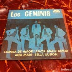 Discos de vinilo: SINGLE / EP. LOS GEMINIS. CAMBIA DE AMOR - AMOR AMOR AMOR - ANA MARI - BELLA ILUSIÓN. 1972. Lote 187302435