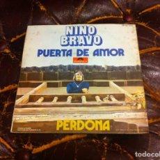 Discos de vinilo: SINGLE / EP. NINO BRAVO. PUERTA DE AMOR. PERDONA. 1970. Lote 187305202