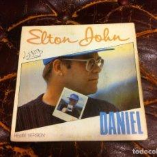 Discos de vinilo: SINGLE / EP. ELTON JOHN. DANIEL - GOODBYE YELLOW BRICK ROAD. 1973. Lote 187307055
