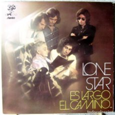 Discos de vinilo: LONE STAR.ES LARGO EL CAMINO...PROGRESIVO.PORTADA DOBLE..EX...UNIC 1972. Lote 187322017