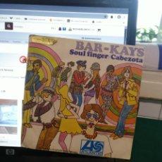 Discos de vinilo: THE BAR-KAYS, SOUL FINGER. ATLÁNTIC 1967. Lote 187322427