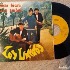 Discos de vinilo: LOS UNIDOS. COSTA BRAVA Y ANA ISABEL.1970 . Lote 187326213
