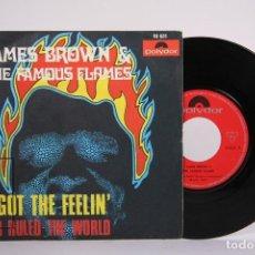 Discos de vinilo: DISCO EP DE VINILO - JAMES BROWN & THE FAMOUS FLAMES / I GOT THE FEELIN... - POLYDOR - AÑO 1968. Lote 187328267