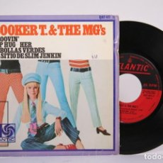 Discos de vinilo: DISCO EP DE VINILO - BOOKER T & THE MG'S / GROOVIN' - ATLANTIC - AÑO 1967. Lote 187328323