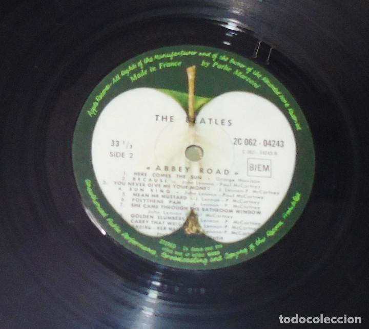 Discos de vinilo: THE BEATLES -ABBEY ROAD -L.P. -1ª EDICION FRANCESA AÑO 1969--- C- 062-04243 --STEREO - Foto 3 - 161850170