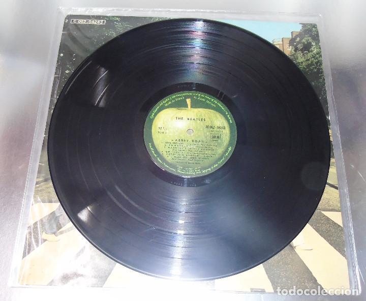 Discos de vinilo: THE BEATLES -ABBEY ROAD -L.P. -1ª EDICION FRANCESA AÑO 1969--- C- 062-04243 --STEREO - Foto 4 - 161850170