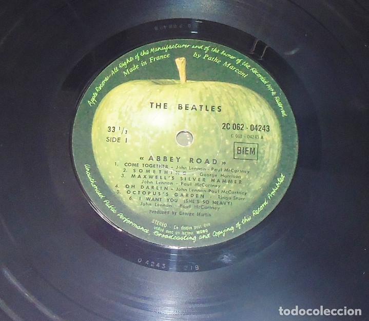 Discos de vinilo: THE BEATLES -ABBEY ROAD -L.P. -1ª EDICION FRANCESA AÑO 1969--- C- 062-04243 --STEREO - Foto 5 - 161850170