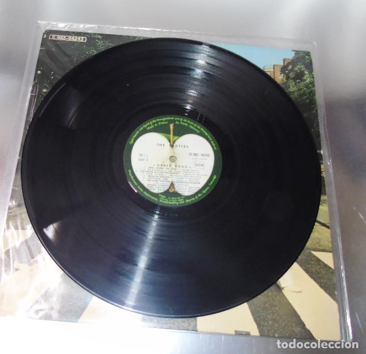 Discos de vinilo: THE BEATLES -ABBEY ROAD -L.P. -1ª EDICION FRANCESA AÑO 1969--- C- 062-04243 --STEREO - Foto 6 - 161850170
