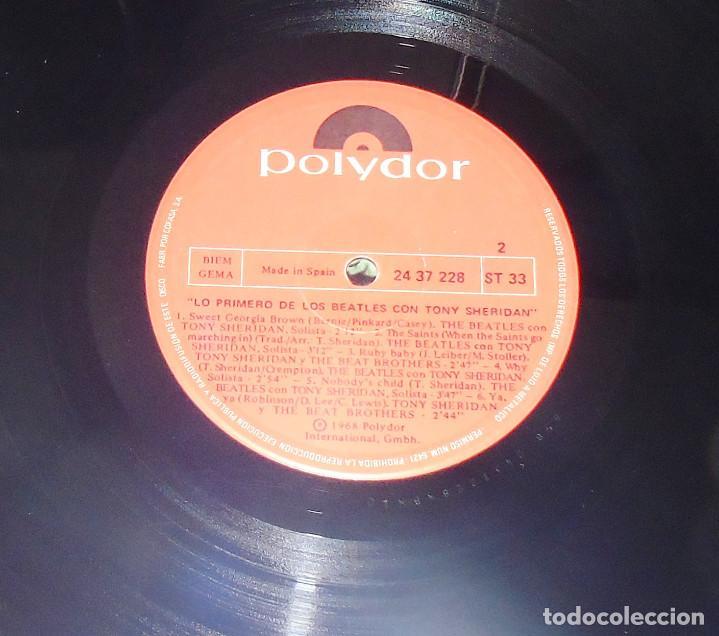 Discos de vinilo: THE BEATLES & TONY SHERIDAN-----L.P. DOBLE- 21 TITULOS --- ***COL*** COMO NUEVO *** - Foto 10 - 157768102