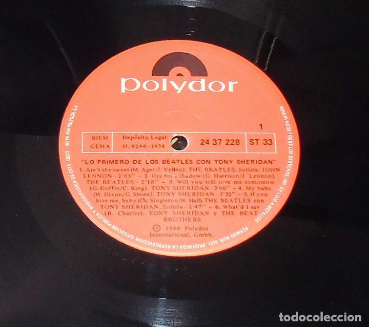 Discos de vinilo: THE BEATLES & TONY SHERIDAN-----L.P. DOBLE- 21 TITULOS --- ***COL*** COMO NUEVO *** - Foto 12 - 157768102