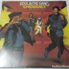 Discos de vinilo: KOOL & THE GANG – EMERGENCY . Lote 187353605