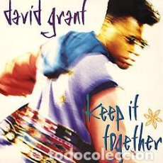 Discos de vinilo: DAVID GRANT ‎– KEEP IT TOGETHER . Lote 187369611
