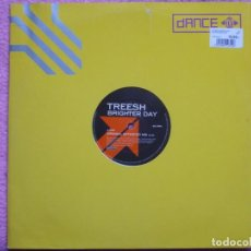 Discos de vinilo: TREESH,BRIGHTER DAY EDICION EU DEL 2002. Lote 187370207