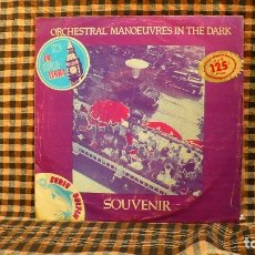 Discos de vinilo: ORCHESTRAL MANOEUVRES IN THE DARK – SOUVENIR / MOTION & HEART /SACRED HEART, 1981. . Lote 187372293