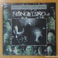 Disques de vinyle: NONOYESNO - YOUR CHOICE LIVE SERIES - LP. Lote 187373572