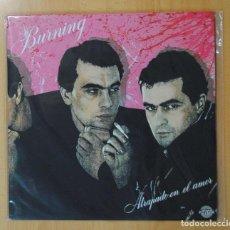 Discos de vinilo: BURNING - ATRAPADO EN EL AMOR - LP. Lote 187373853