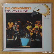 Discos de vinilo: THE COMMODORES - THERE´S A SONG IN MY HEART - LP. Lote 187374066