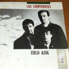 Discos de vinilo: DISCO VINILO SINGLE LOS CONFIDENTES. Lote 187378670